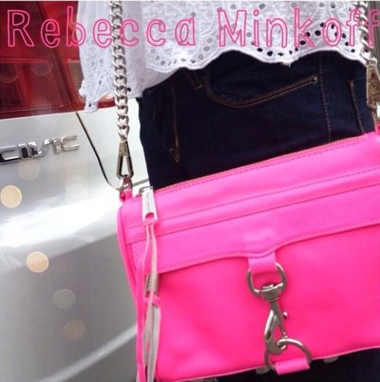 From $45 Electric Pink Handbags & Wallets @ Rebecca Minkoff