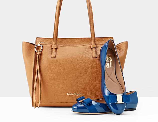Up to 35% Off Salvatore Ferragamo Shoes & Handbags On Sale @ MYHABIT