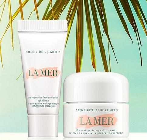 Free 2 Sample with Any Purchase @ La Mer