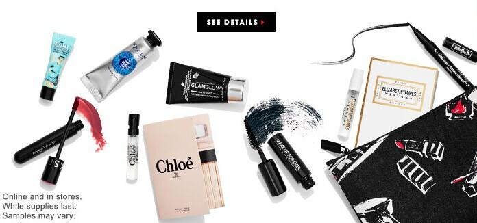 Free 8-Piece Gifts with $35 Purchase @ Sephora.com