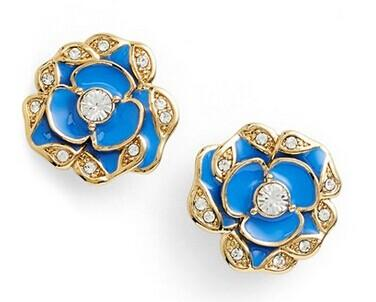kate spade new york 'beach house bouquet' flower stud earrings @ Nordstrom