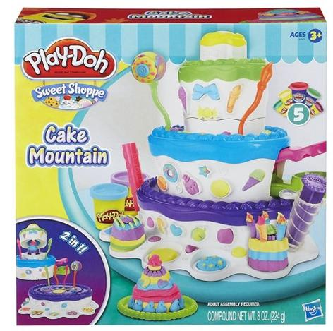 $7.59 Play-Doh Sweet Shoppe Cake Mountain Playset