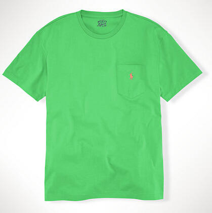 Ralph Lauren CLASSIC-FIT POCKET T-SHIRT