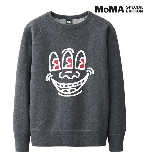 Men's Graphic Sweat Shirt @ Uniqlo