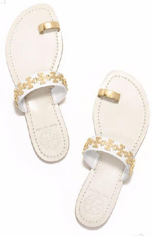 Up to 40% Off TORY BURCH VAL FLAT SANDAL @ TORY BURCH