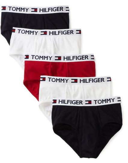 Tommy Hilfiger Men's Five-Pack Brief Underwear Set