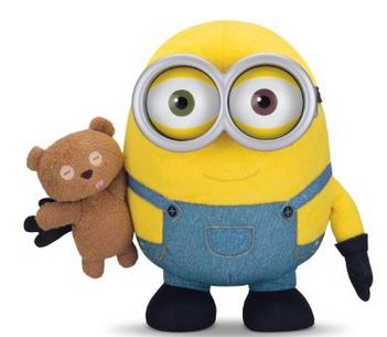 $29.99 Minions Bob with Teddy Bear (Prime members only)