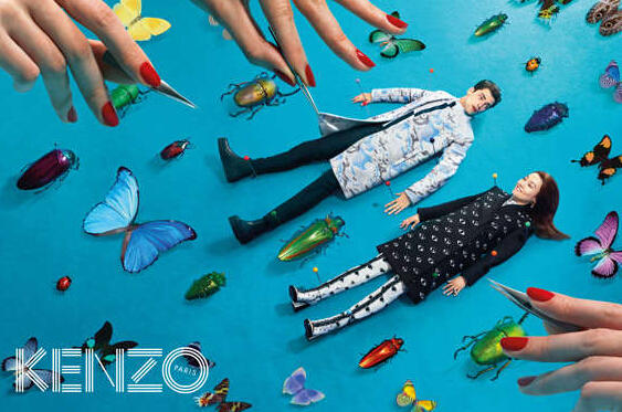 Up to 40% Off +  Extra 30% Off Selec KENZO Apparel @ Farfetch