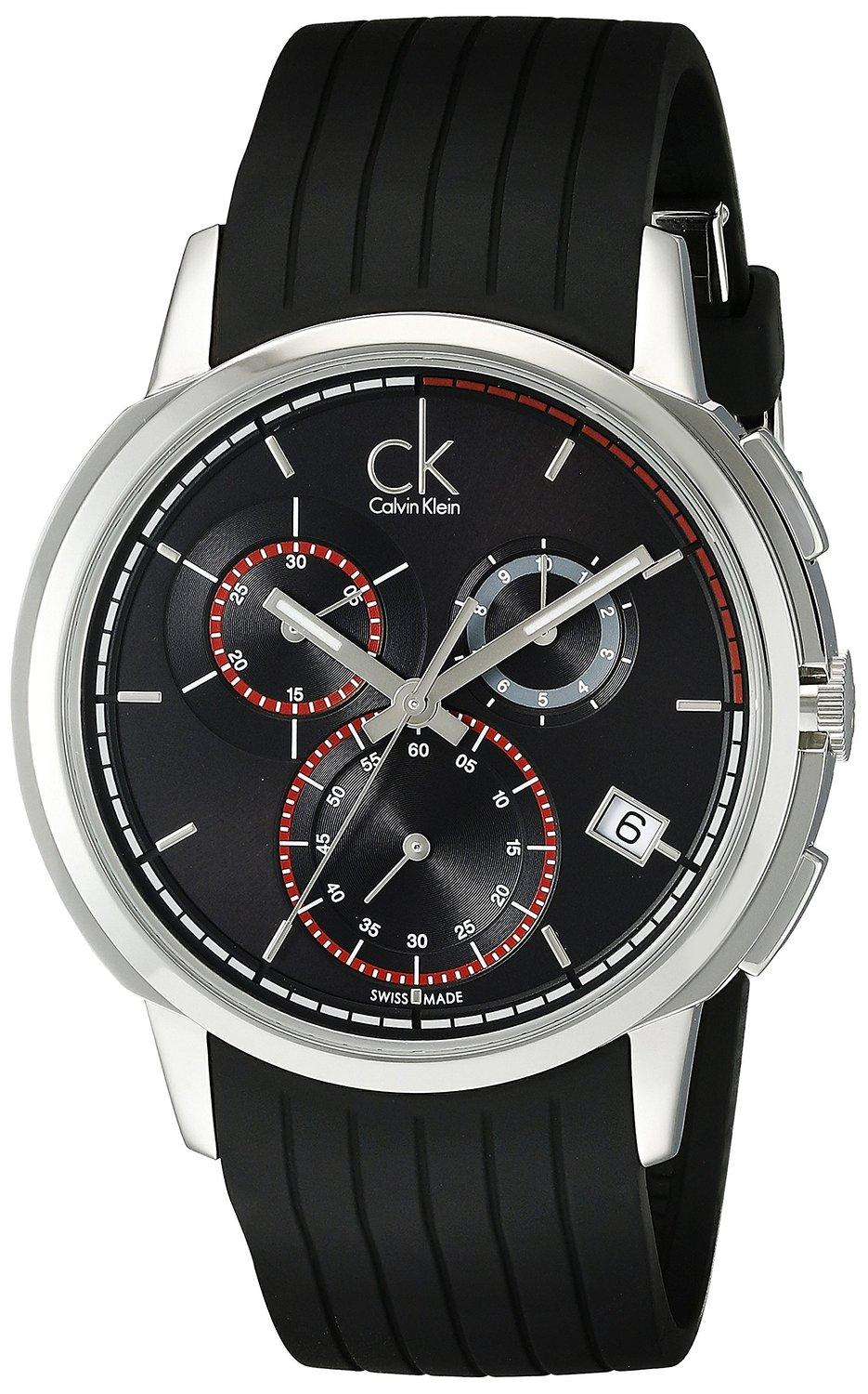 Calvin Klein Men's K1V27704 Drive Stainless Steel Watch (Dealmoon exclusive)