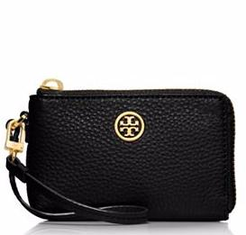 ROBINSON PEBBLED CONVERTIBLE WRISTLET @ Tory Burch