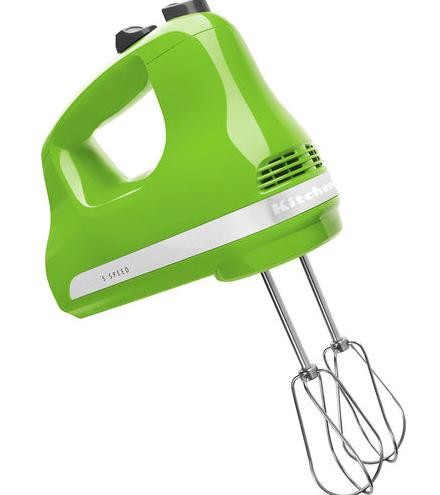 KitchenAid 5-Speed Hand Mixer - Green Apple