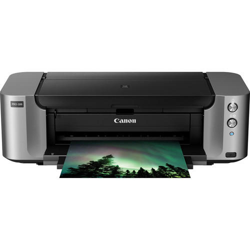 $49.99 Canon PIXMA PRO-100 Color Wireless Inkjet Photo Printer + 50-pack 13