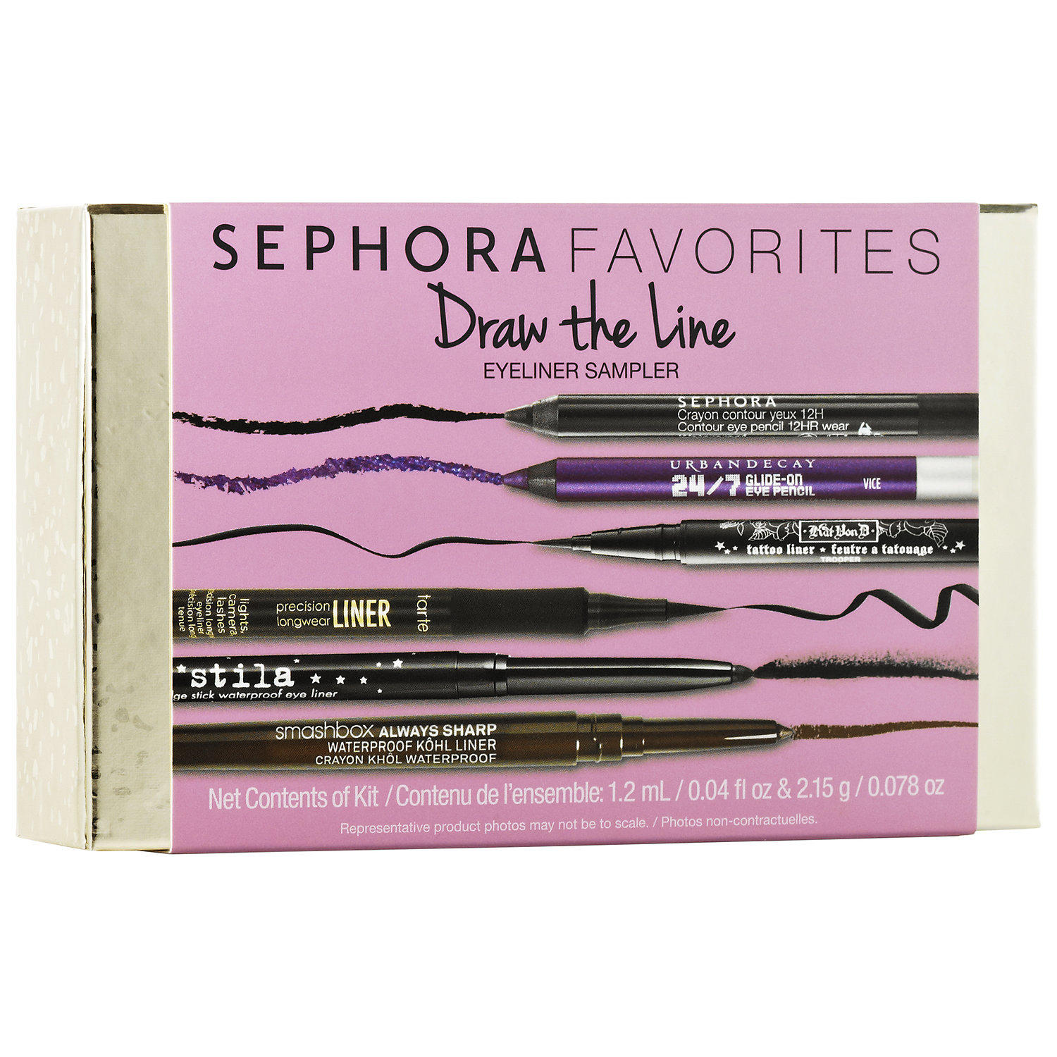 Sephora launched New Sephora Favorites Draw The Line