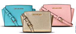 Up to 25% Off MICHAEL Michael Kors Mini Selma Messenger @ CUSP by Neiman Marcus