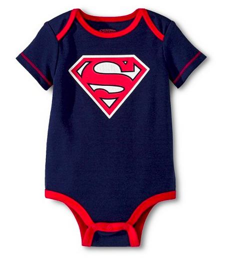 Superman Newborn Boys' Bodysuit