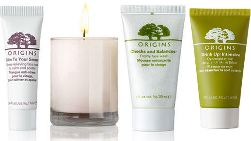 Free 4-piece Gift with Any $40 Order @ Origins