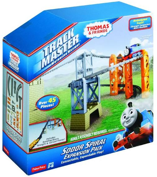 Fisher-Price Thomas The Train TrackMaster Sodor Spiral Expansion Pack