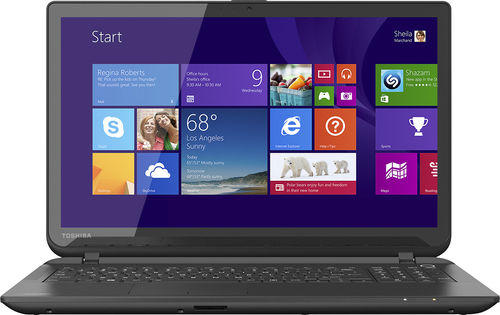 """$249.99 Toshiba Satellite 15.6"""" Touch-Screen Laptop AMD A8-Series"""