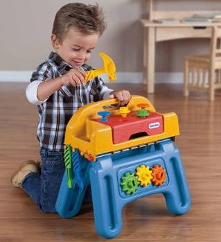 Little Tikes Little HandiWorker Workhorse Tool Play Set @ Walmart.com