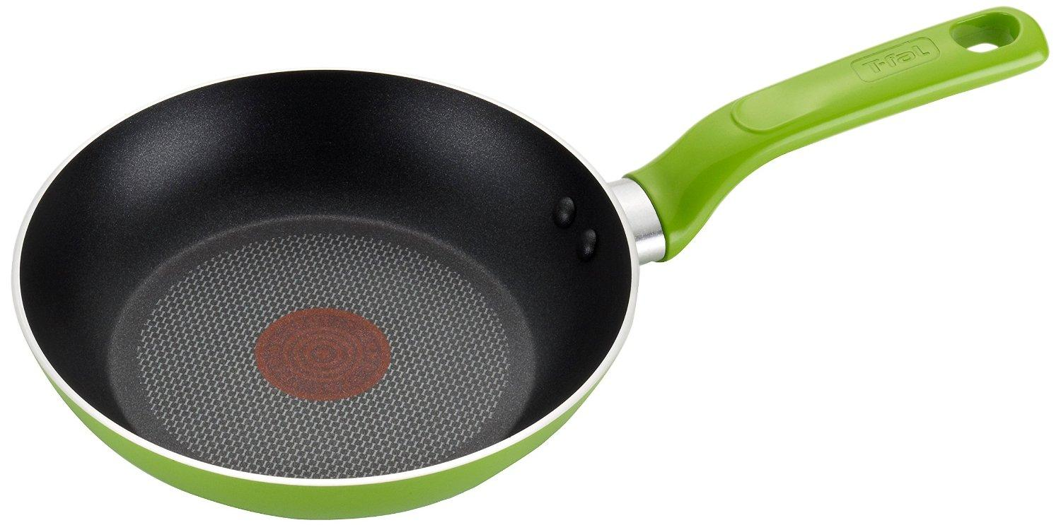 T-fal C96805 Excite Nonstick Thermo-Spot Dishwasher Safe Oven Safe Fry Pan Cookware, 10.25-Inch