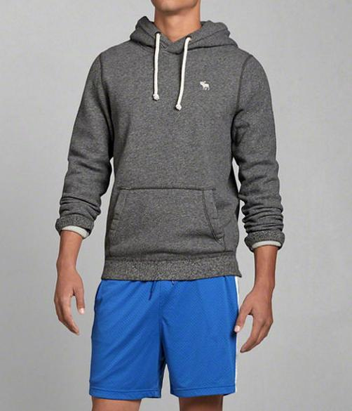 Abercrombie & Fitch Men's Side Zip Hoodie