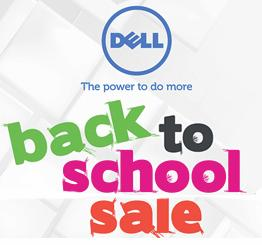Save up to 35% Dell Outlet Back to School Sale