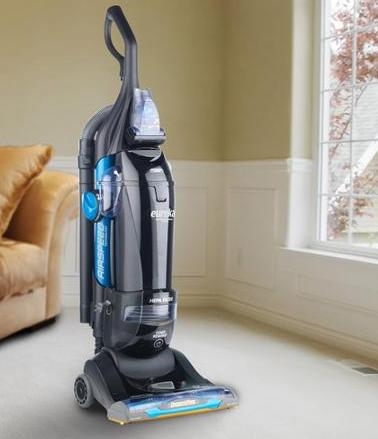 EUREKA ASM1156A MyVac SuctionSeal Bagged Rewind Upright Vacuums Blue/Black