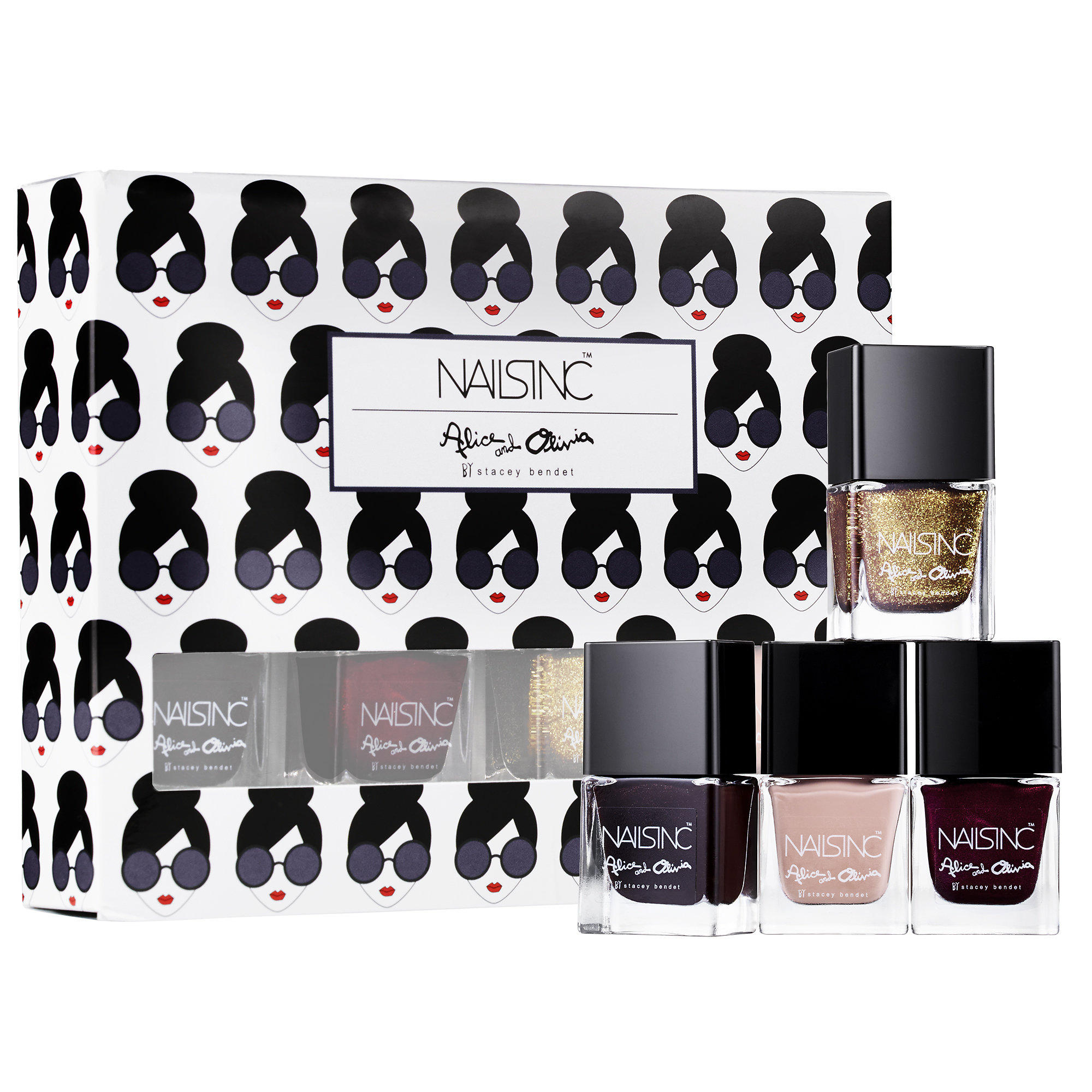 New Release Nails Inc launched New alice + olivia by Stacey Bendet Nail Collection