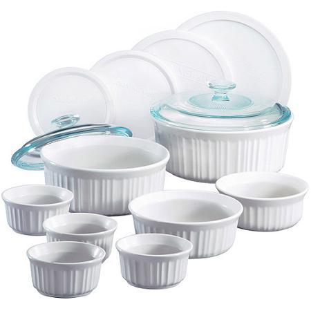 28.99 Corningware French White 14-Piece Set