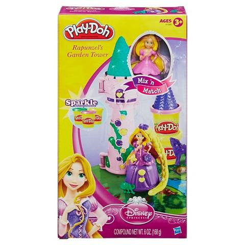 Play-Doh Mix 'n Match Disney Rapunzel's Garden Tower Playset