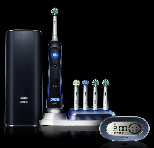 Oral-B BLACK 7000 SmartSeries Electric Rechargeable Power Toothbrush