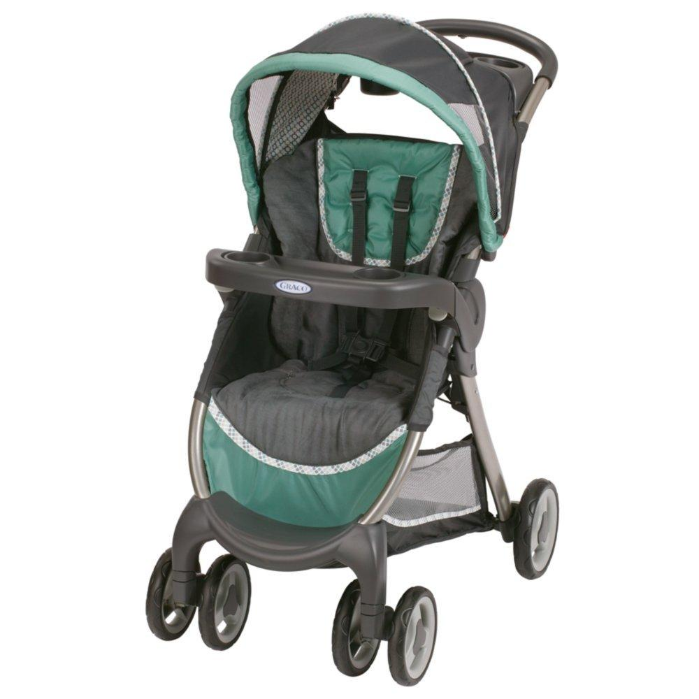 Graco FastAction Fold Classic Connect Stroller, Bermuda