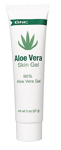 2 for $3, or $1.59 for member GNC Aloe Vera Skin Gel 2 oz.