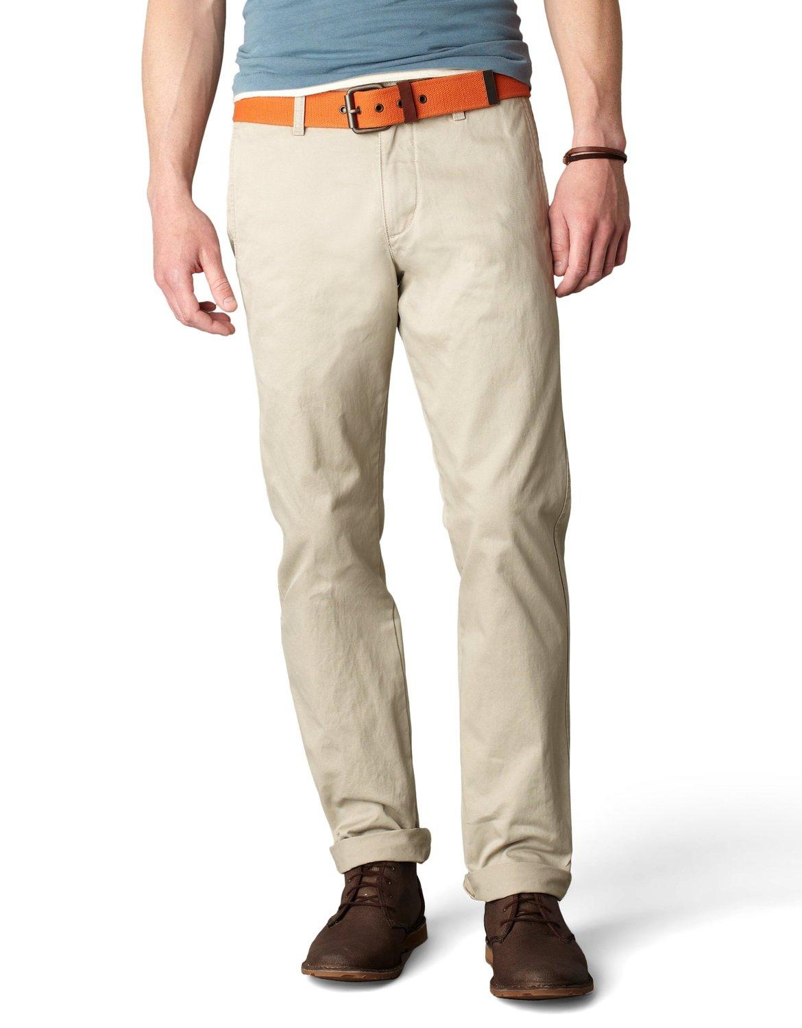 Dockers Men's Alpha Khaki Slim Flat-Front Pant