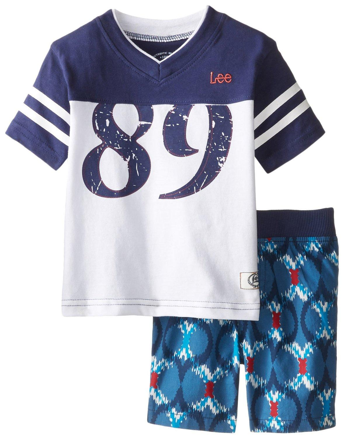 Lee Baby Boys' 89 Tee Short Set