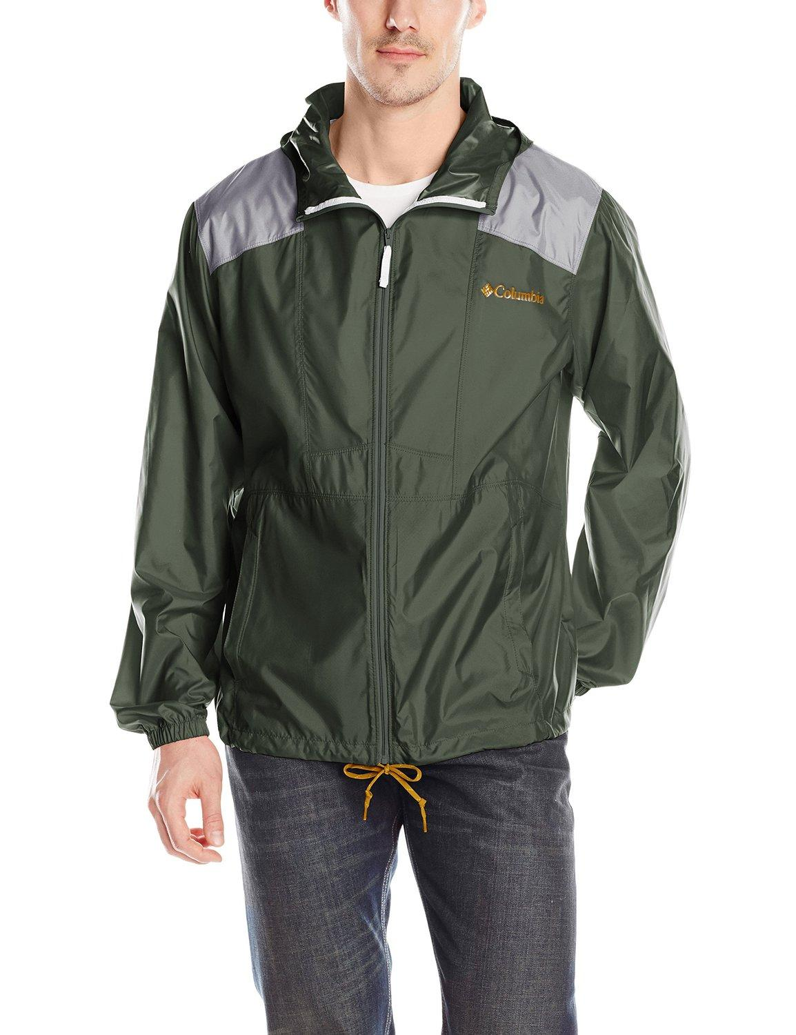 Columbia Men's Flashback Windbreaker Full Zip Jacket