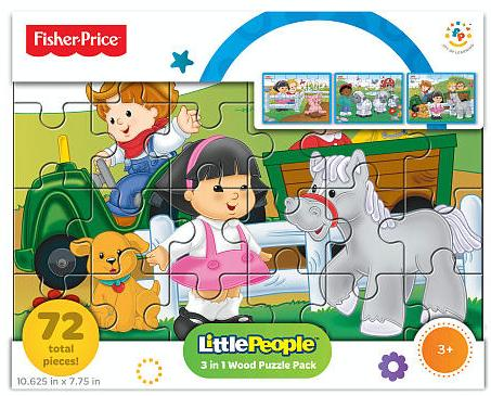 Fisher-Price 3-in-1 Big Adventure Wood Puzzle @ ToysRUs