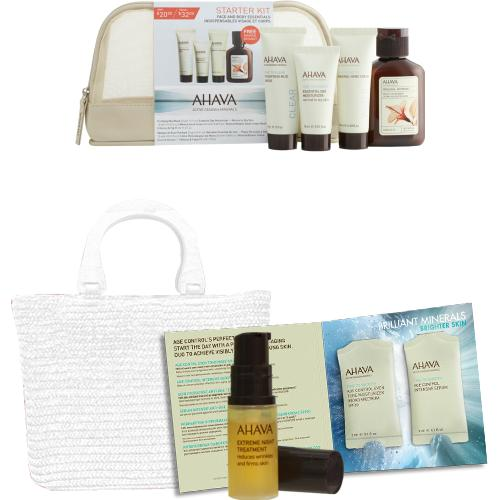 35% Off + Free 9-piece Gift on Orders Over $100 @ AHAVA