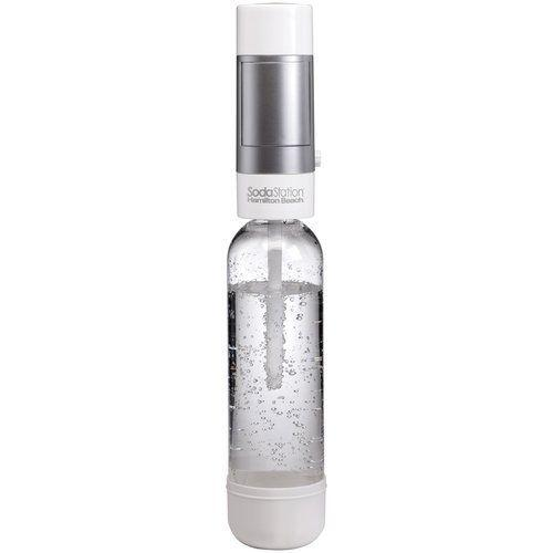 $11.99 + Free Shipping Hamilton Beach Fizzini SodaStation Hand-held Carbonated Soda Maker