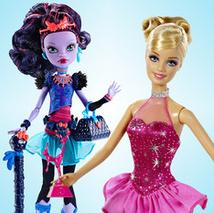 Up to 55% Off Mattel Doll Collection On Sale @ Zulily.com