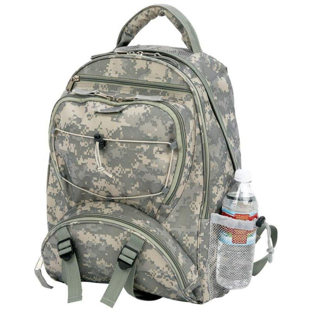 $17.49 Extreme Pak LUBPSD Digital Camo Water Repellent Backpack