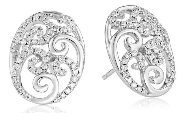 Extra 50% Off Women's Earrings with Diamond