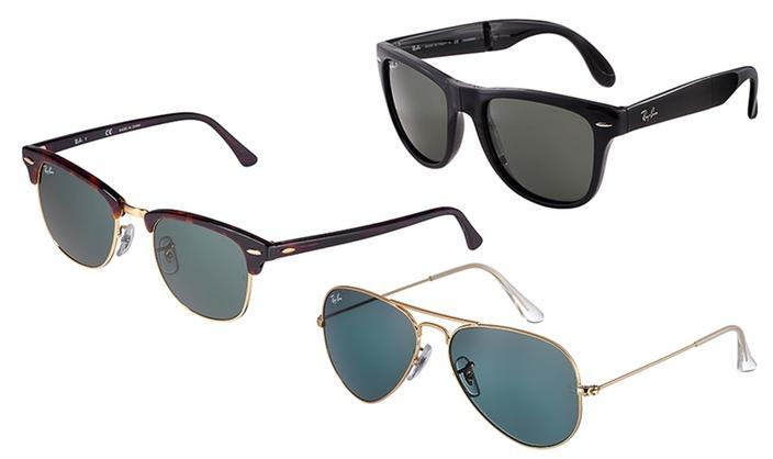 Up to 30% Off + Extra $10 Off Ray-Ban Sunglasses for Men and Women @ Groupon