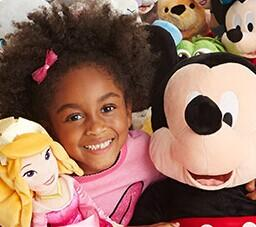 Buy One Get One For $1 Plush Sale @ Disney Store