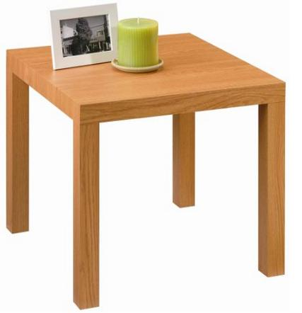$17.93 DHP Parsons Modern End Table, Natural Stain
