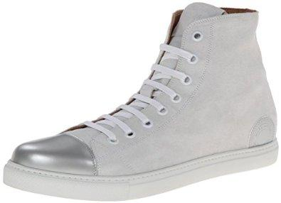 MARC JACOBS Men's Calf Leather Mercer High Top Fashion Sneaker