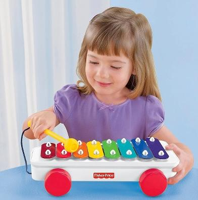 Fisher-Price Brilliant Basics Classic Xylophone @ Amazon.com