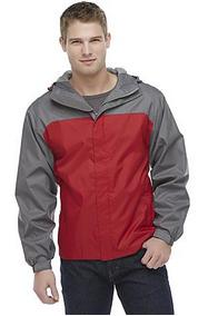 NordicTrack MS5NT31501YM Men's Hooded Ripstop Rain Jacket