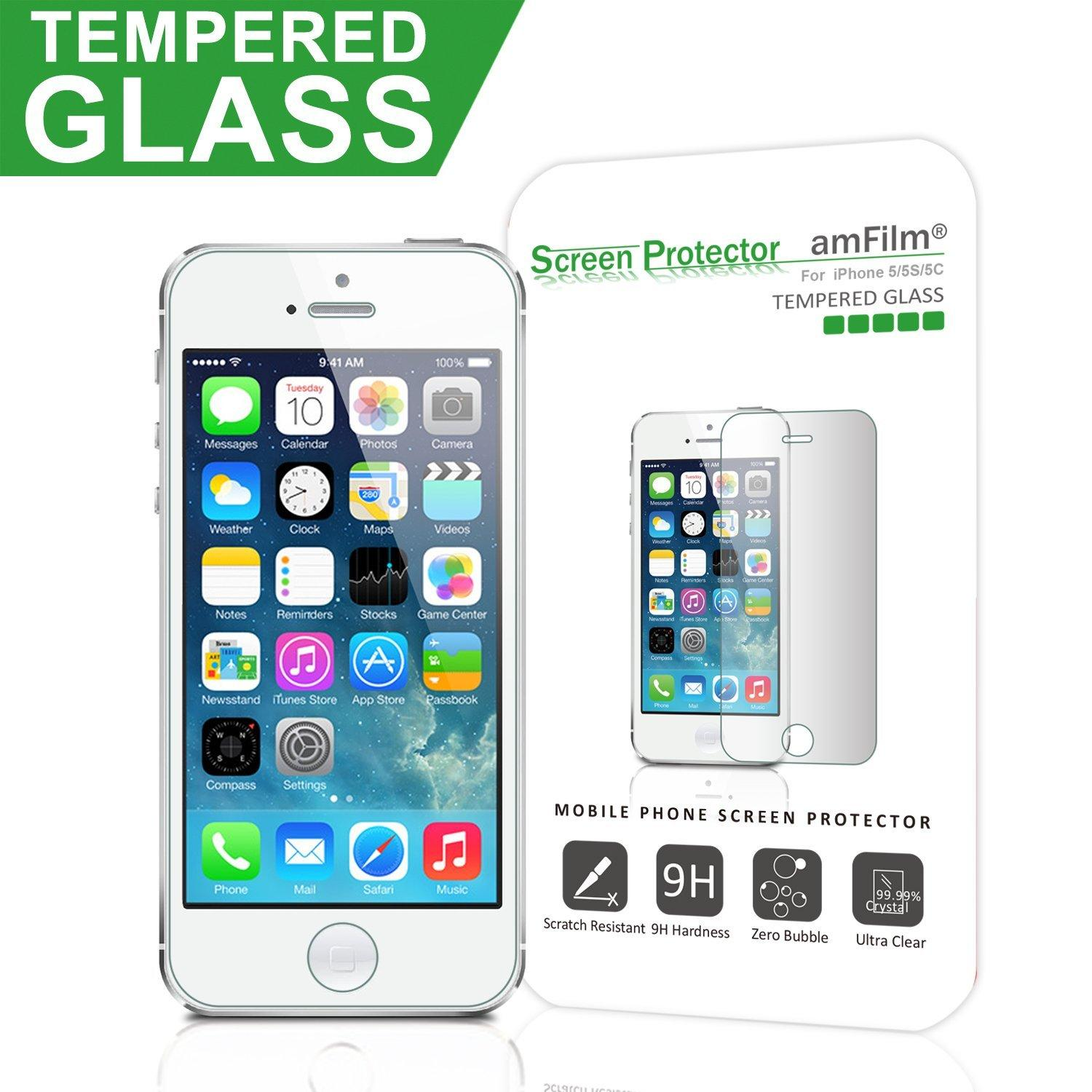 iPhone 5/5S/5C Screen Protector Glass
