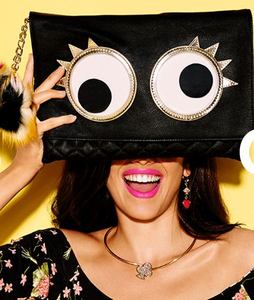 15% off $75  or 20% off $125+Sitewide @ Betsey Johnson